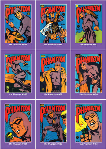 Phantom Philecard #485-493