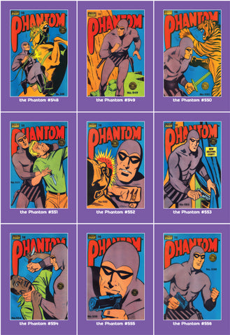 Phantom Philecard #548-556