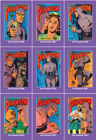 Phantom Philecard #566-574