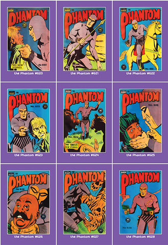 Phantom Philecard #620-628