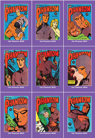 Phantom Philecard #629-637