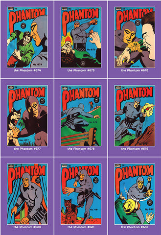 Phantom Philecard #674-682