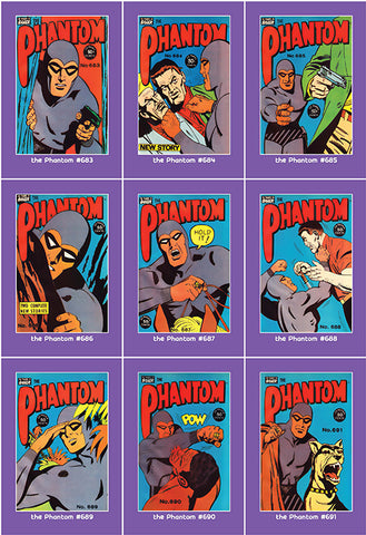 Phantom Philecard #683-691