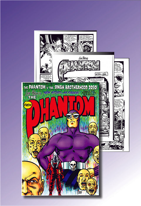"Stats of issue 1276 - ""The Phantom vs the Singh Brotherhood"" plus Comic"