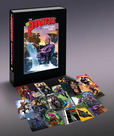 NEW - The Phantom Gallery Series 2 Trading Cards (9 cards pack)