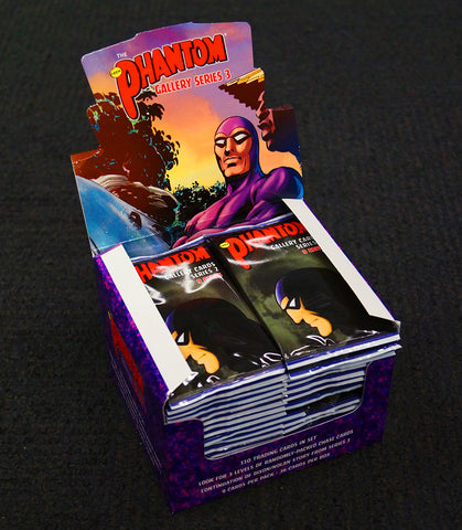 NEW - The Phantom Gallery Series 2 Trading Cards (5 boxes x 36 packs of 9 cards)