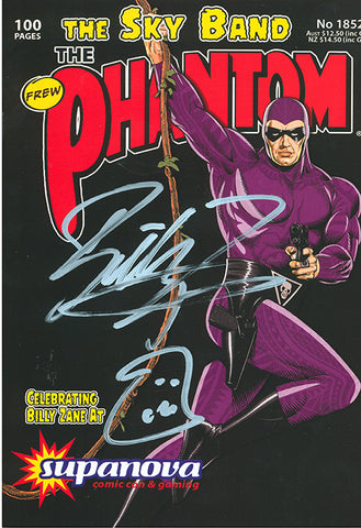Issue 1852 - signed by Billy Zane
