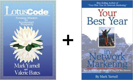 The Lotus Code with Your Best Year paperback FREE...