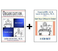 Get Organized Combo - Audio Program (MP3) + Paperback
