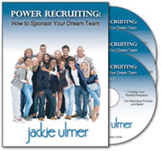 Power Recruiting: How to Sponsor Your Dream Team 3-CD Audio Program