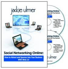 Social Networking Online – Attract and Sponsor Using Web 2.0 – 2-CD audio program