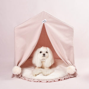 Gorgeous Dog & Cat Tepee Bed With Cushion