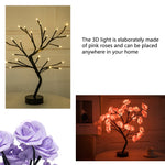 Load image into Gallery viewer, Imprismo™ Table Lamp Rose Flower Tree