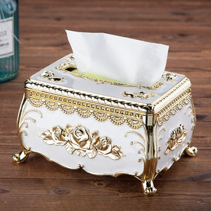 European acrylic tissue box