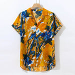 Load image into Gallery viewer, Chambray Print Shirt