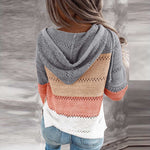 Load image into Gallery viewer, Vintage Patchwork Women Sweater Top