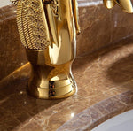 Load image into Gallery viewer, Luxury Copper Swan Faucet Golden