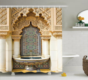 Moroccan Vintage Decor Shower Curtain