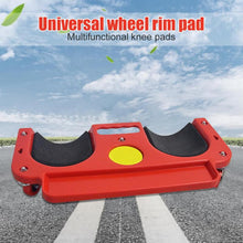 Load image into Gallery viewer, Rolling Knee Protection Pad with Wheel Built in Foam Padded Laying Platform Universal Wheel Kneeling Pad Multi-functional Tool