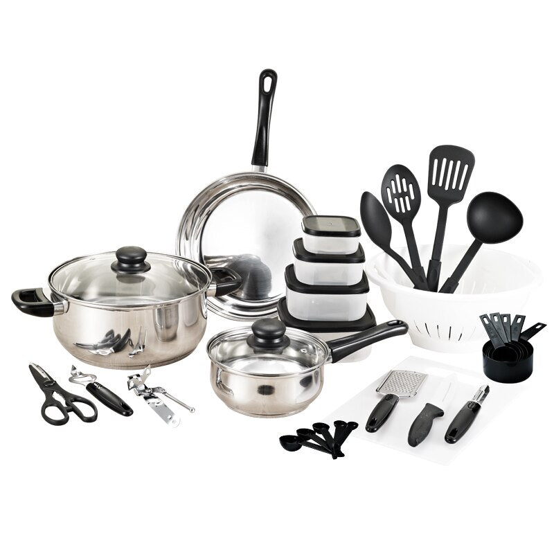 Ironware Stainless Steel Cooking Set