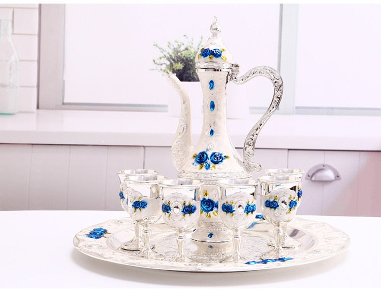Vintage Jug Decor Set