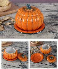 Load image into Gallery viewer, Ceramic Pumpkin Tableware Bowl