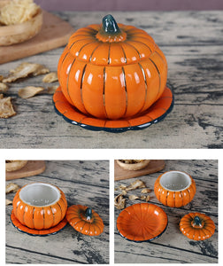 Ceramic Pumpkin Tableware Bowl
