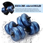 Load image into Gallery viewer, Imprismo™ Adjustable Water-Filled Dumbbell's