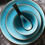 Load image into Gallery viewer, Luminance Blue Glaze Plate