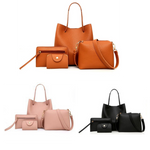 Load image into Gallery viewer, Hammet 4PC Luxurious Bag Set