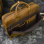 Load image into Gallery viewer, Mahu Men Genuine Leather Briefcase