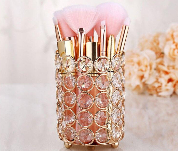 Luxury Crystal Storage Holder