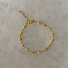 "Load image into Gallery viewer, Gold Single ""Andrea"" Bracelet"