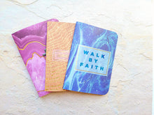 Load image into Gallery viewer, Set of 3 mini notebook set, Agate