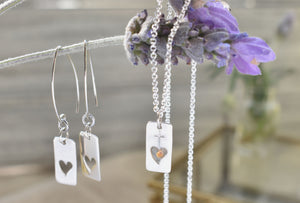 Open Heart Sterling Silver Necklace PreOrder