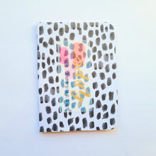 Load image into Gallery viewer, Set of 3 mini notebook set, Spots
