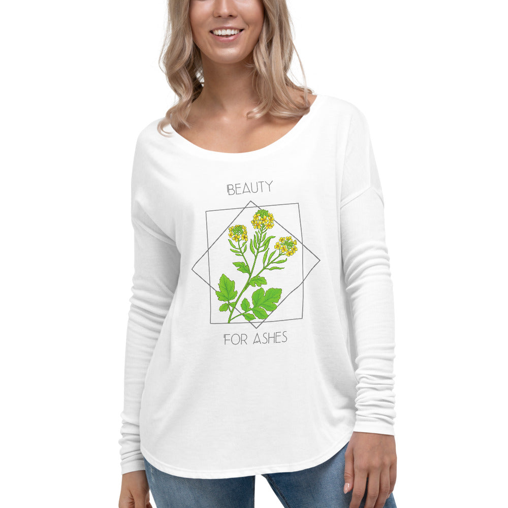 Beauty For Ashes Long Sleeve Relax Fit Tee
