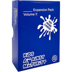 Kids Against Maturity Card Game for Kids and Families, Expansion Pack #1 (Core Game Sold Separately)