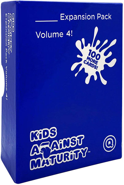 Kids Against Maturity Card Game for Kids and Families, Expansion Pack #4 (Core Game Sold Separately)