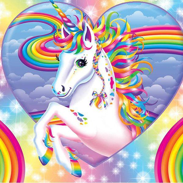 Animal Unicorn Paint By Numbers Kits UK For Adult HQD1279