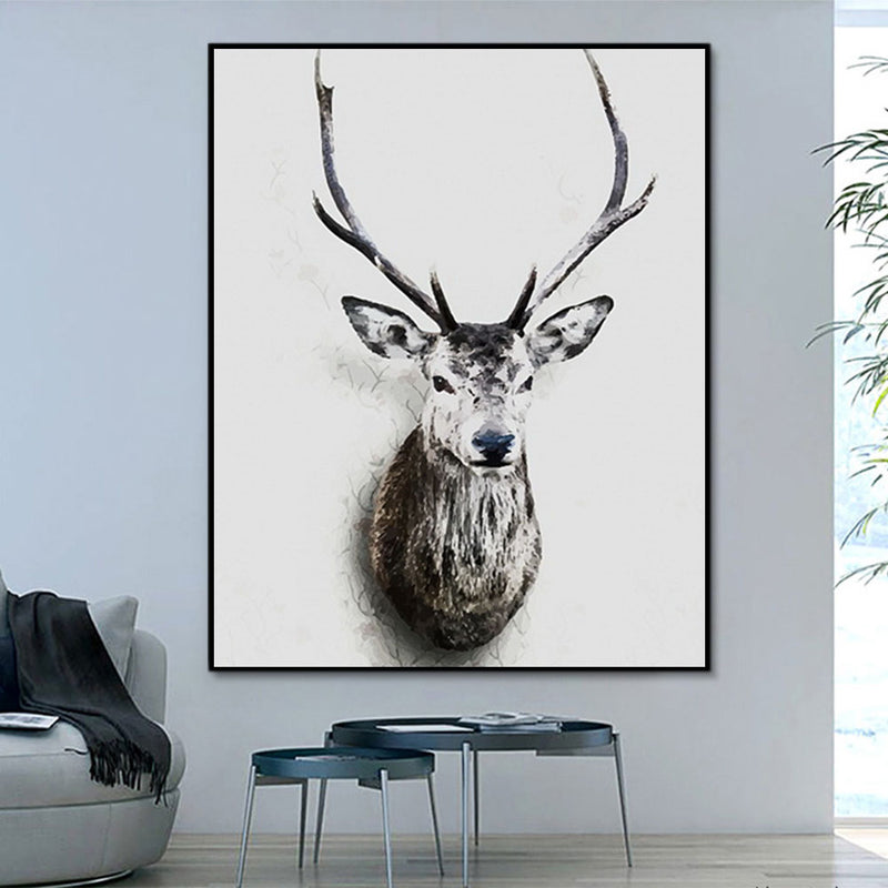 Animal Deer Paint By Numbers Kits UK For Adult PH9208