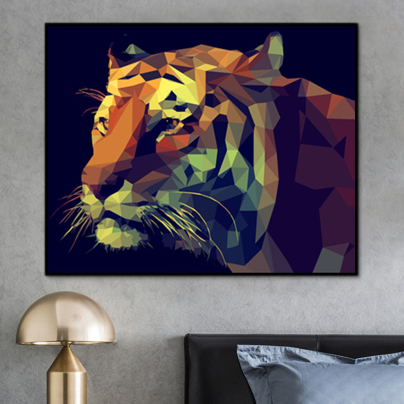 Animal Tiger Paint By Numbers Kits UK For Adult PH9590