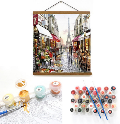 Hanging Frame For Paint By Numbers Kits