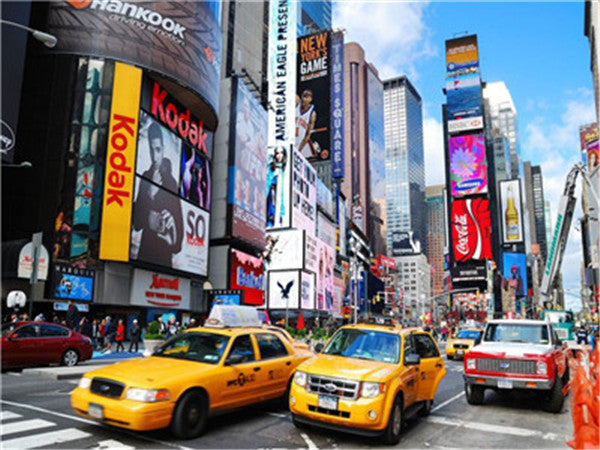 Landscape New York Time Square Paint By Numbers Kits UK Y5123