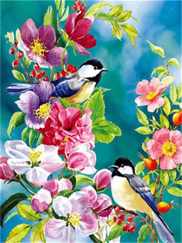 Bird Paint By Numbers Kits UK For Adult Y5333