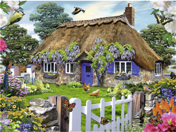 Landscape Paint By Numbers Kits UK For Adult Y5335