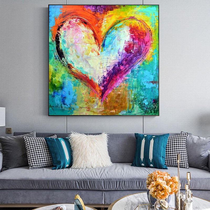 Pattern Heart Masterpiece Paint By Numbers HQD1324