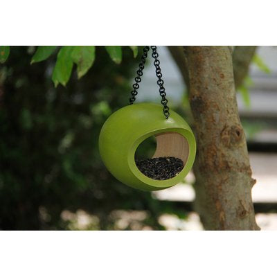 Recycled Mango Wood Fly Through Feeder