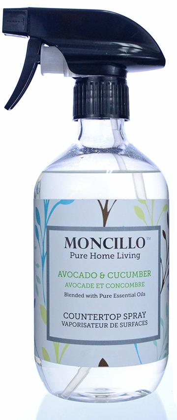 Moncillo Countertop Spray- Avocado & Cucumber