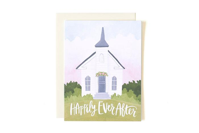 Wedding Card- Happily Ever After